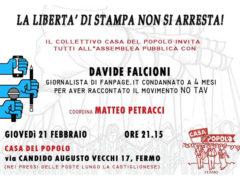 Assemblea a Fermo con Davide Falcioni, giornalista di Fanpage.it