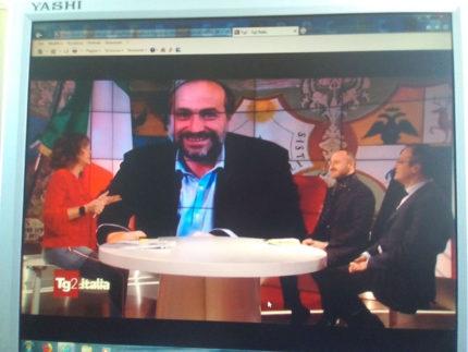Paolo Calcinaro intervistato da Tg2 Italia