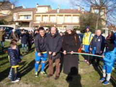 Inaugurazione campo polivalente a Salvano di Fermo