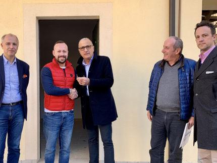 Consegna unità immobiliari a Curetta di Servigliano