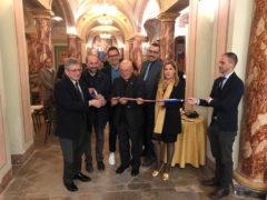 """Inaugurata a Fermo la mostra """"Gernika"""" di Sofia Gandarias"""