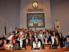 """Liceo """"Galilei"""" di Ancona in Consiglio Regionale"""