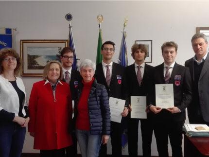 Ricevuti in Provincia dalla Presidente Canigola gli studenti dell'ITT Montani di Fermo vincitori alla BYSCC di Pechino