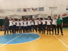 Under 13 femminile ASD Don Celso Pallavolo Fermo: secondo posto ai provinciali