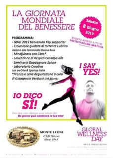 Global Wellness Day 2019 a Monteleone di Fermo
