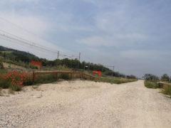 Nuova strada parallela alla ferrovia a Marina Palmense di Fermo