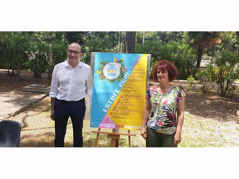 Presentazione cartellone eventi estate 2019 a Porto San Giorgio