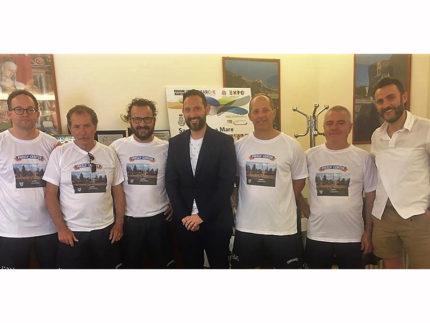 Tennistavolo: la Freely Center ricevuta dal sindaco di Sant'Elpidio a Mare