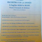 Convegno sulla danza ad Altidona - locandina