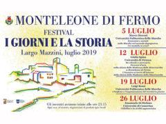 I giorni e la storia 2019 - festival a Monteleone di Fermo