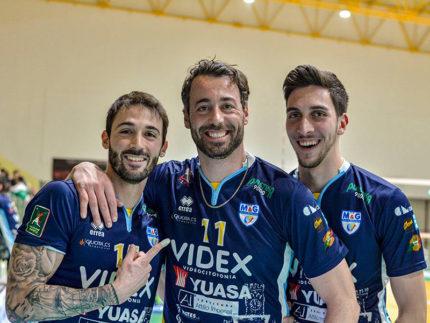 Marchiani, Gaspari, Romagnoli - M&G Videx Grottazzolina