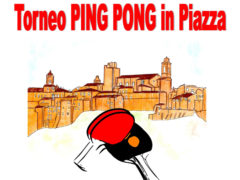 Torneo ping pong in piazza a Sant'Elpidio a Mare