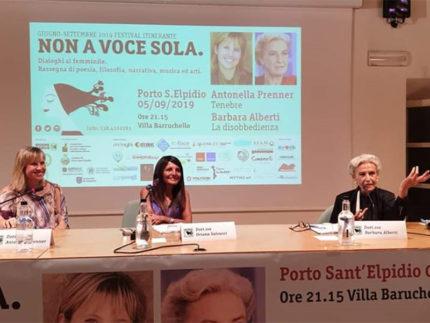 Non a Sola Voce - Barbara Alberti a Porto Sant'Elpidio