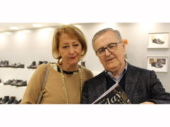 Ediana Mancini, sindaco di Montegranaro, al MICAM