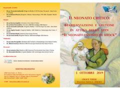 """Convegno """"Il neonato critico"""" a Fermo - locandina pag. 1"""