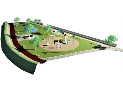 Progetto della nuova Bambinopoli a Lido Tre Archi di Fermo
