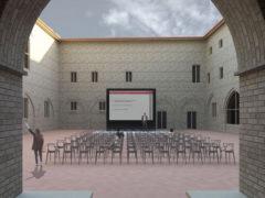 Render progetto ex collegio Fontevecchia di Fermo