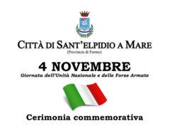 Celebrazioni 4 novembre a Sant'Elpidio a Mare