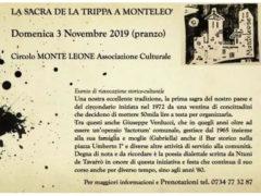 La Sacra de la Trippa a Monteleò 2019