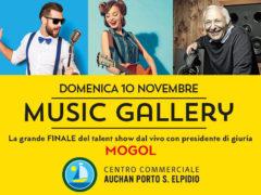 Music Gallery, la grande finale domenica 10 novembre al Centro Commerciale Auchan Porto Sant'Elpidio con ospite speciale Mogol