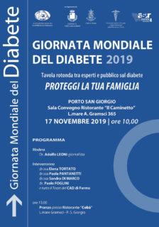 Giornata Mondiale del Diabete 2019 - Incontro a Porto San Giorgio
