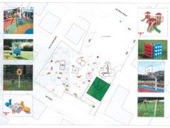 Progetto lavori giardini via Nenni a Casette d'Ete di Sant'Elpidio a Mare
