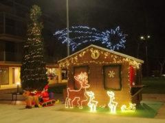 Casetta Babbo Natale a Fermo