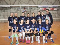 Le ragazze delle giovanili del Consorzio Pallavolistico del Fermano