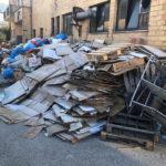 Immondizia sequestrata a Bivio Cascinare di Sant'Elpidio a Mare