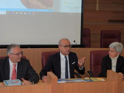 Luca Ceriscioli, Fabrizio Cesetti, Moira Canigola