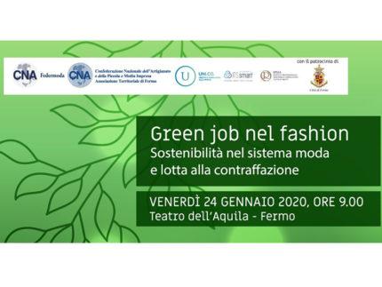 Green job nel fashion - Convegno a Fermo
