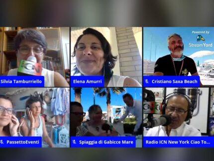 Trasmissione della radio ICN dedicata a Porto Sant'Elpidio