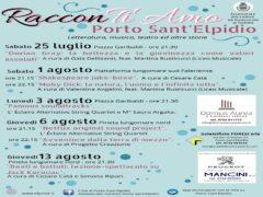 Rassegna RacconTi Amo a Porto Sant'Elpidio