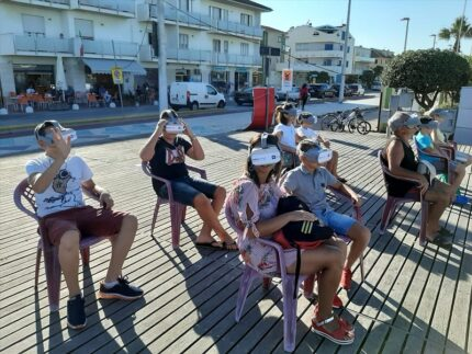 Realtà virtuale a Porto Sant'Elpidio