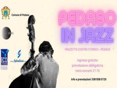 """Locandina di """"Pedaso in Jazz"""""""
