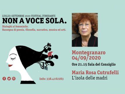 """Tappa a Montegranaro per il festival """"Non a voce sola"""""""