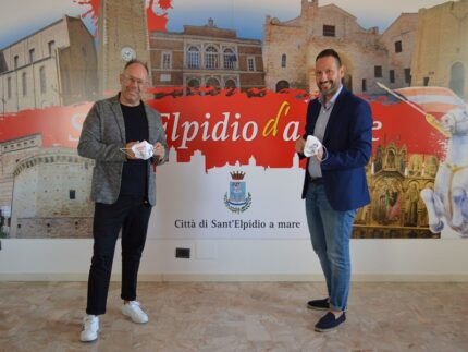 Donazione di mascherine a Sant'Elpidio a Mare