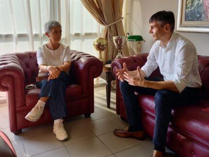 Moira Canigola e Marco Lelli
