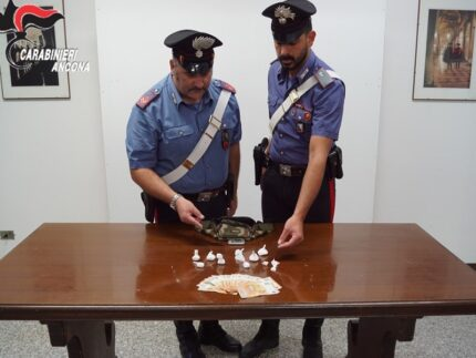 Sequestro di cocaina da parte dei Carabinieri
