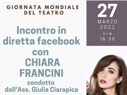 Incontro con Chiara Francini