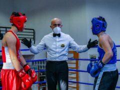L'arbitro di boxe Sauro Di Clementi