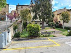 Postazione per la ricarica di veicoli elettrici a Montalparo