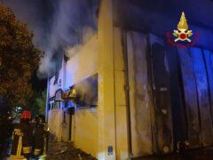 Incendio a Servigliano