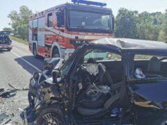 Incidente stradale a Mogliano