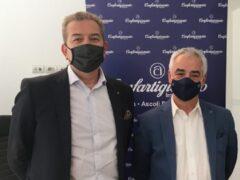 Giorgio Menichelli ed Enzo Mengoni