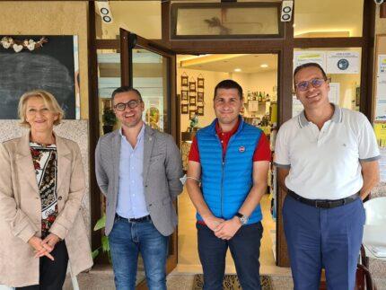 Incontro tra i rappresentanti CNA e i candidati sindaci di Montegranaro